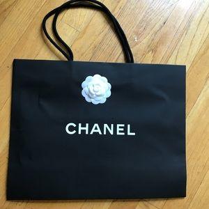 ecb1be372ca4 CHANEL Bags - Bundle: Chanel Paper Bag, ribbon, camellia & more